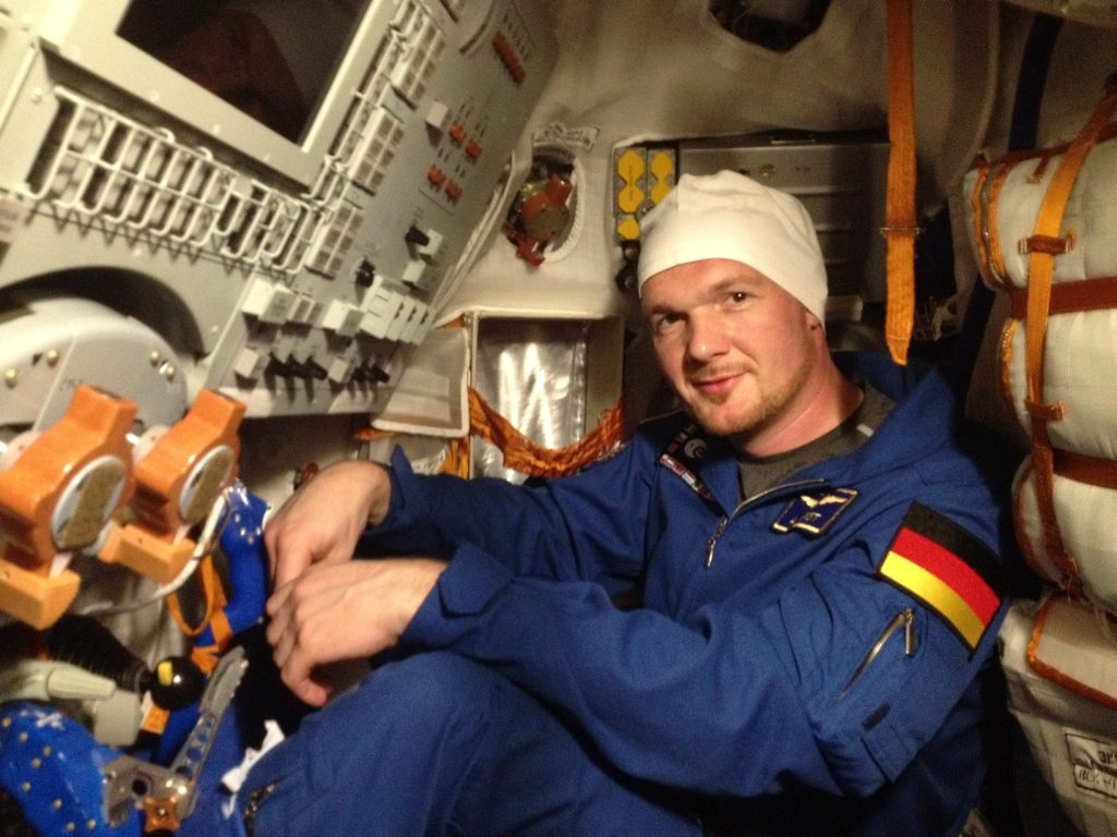 Alexander in the real Soyuz