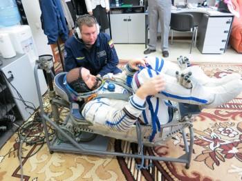 Testing Sokol suit. Credit: GCTC