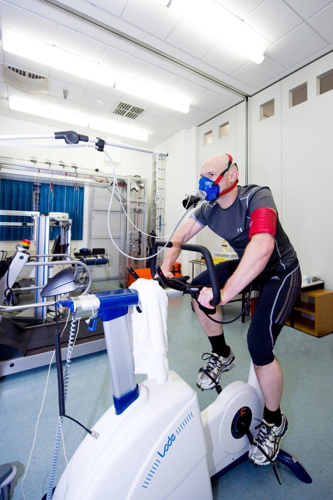 Alexander Gerst during training