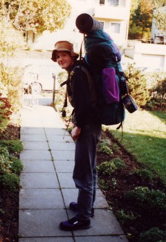 Leaving for boy scout trip at 15
