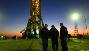 As Soyuz backup crew.