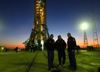 As Soyuz backup crew, November 2013