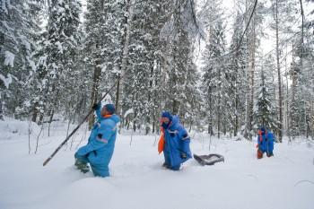 Survival training in Russia. Credits: GCTC