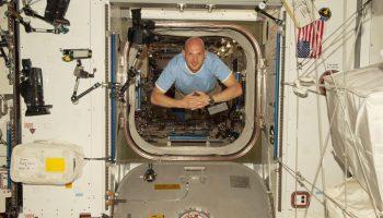 Alexander Gerst. Credits: ESA/NASA
