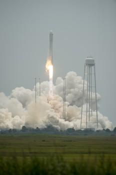 Orbital-2 launch on Antares. Credits: NASA/B. Ingalls