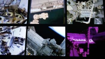 Mission control overview screen. Credits: ESA