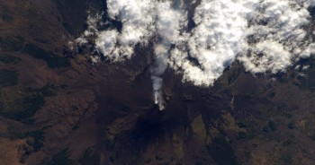 The first volcano I set foot on. Credits: ESA/NASA