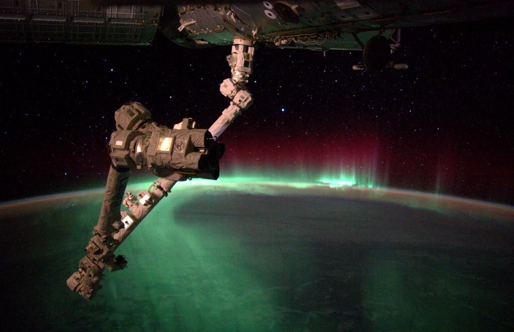 Aurora. Credits: ESA/NASA