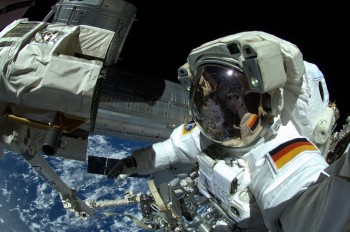 Protected during spacewalk. Credits: ESA/NASA