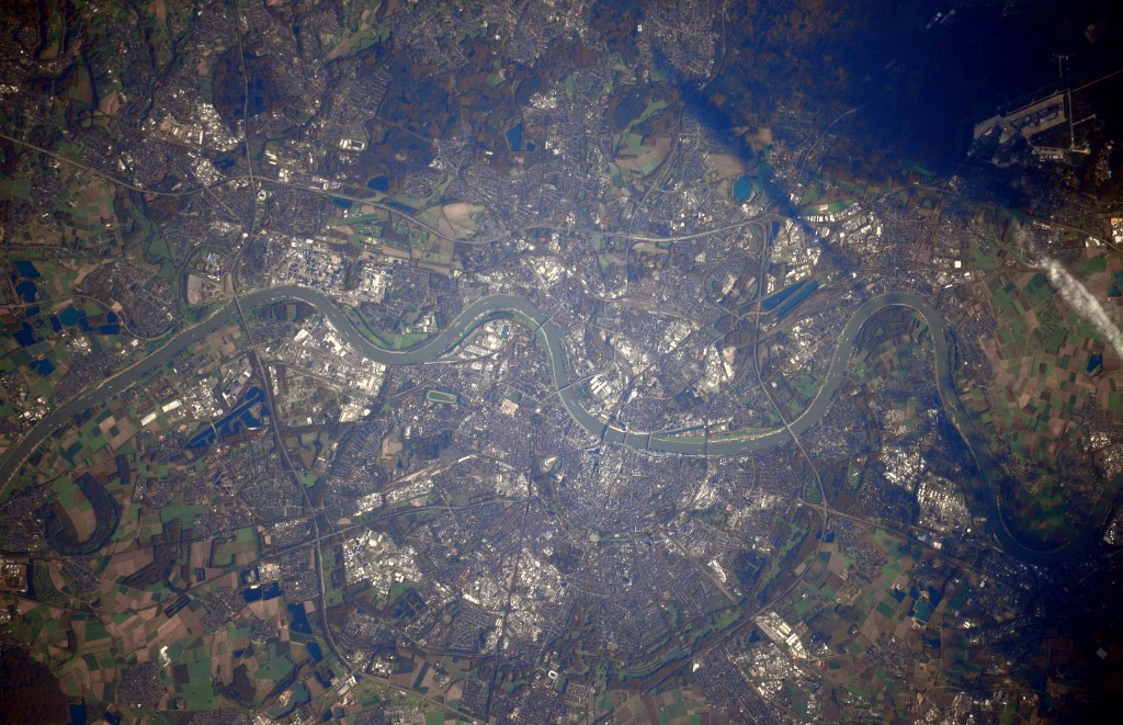 Cologne. Credits: ESA/NASA