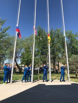 Flags ceremony