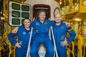 Expedition 56. Credits: NASA–V. Zelentsov