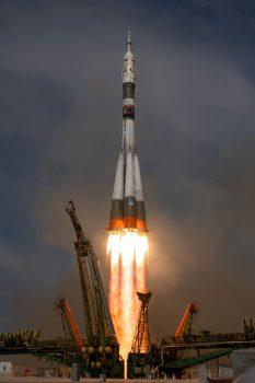 Horizons liftoff. Credits: ESA–S. Corvaja