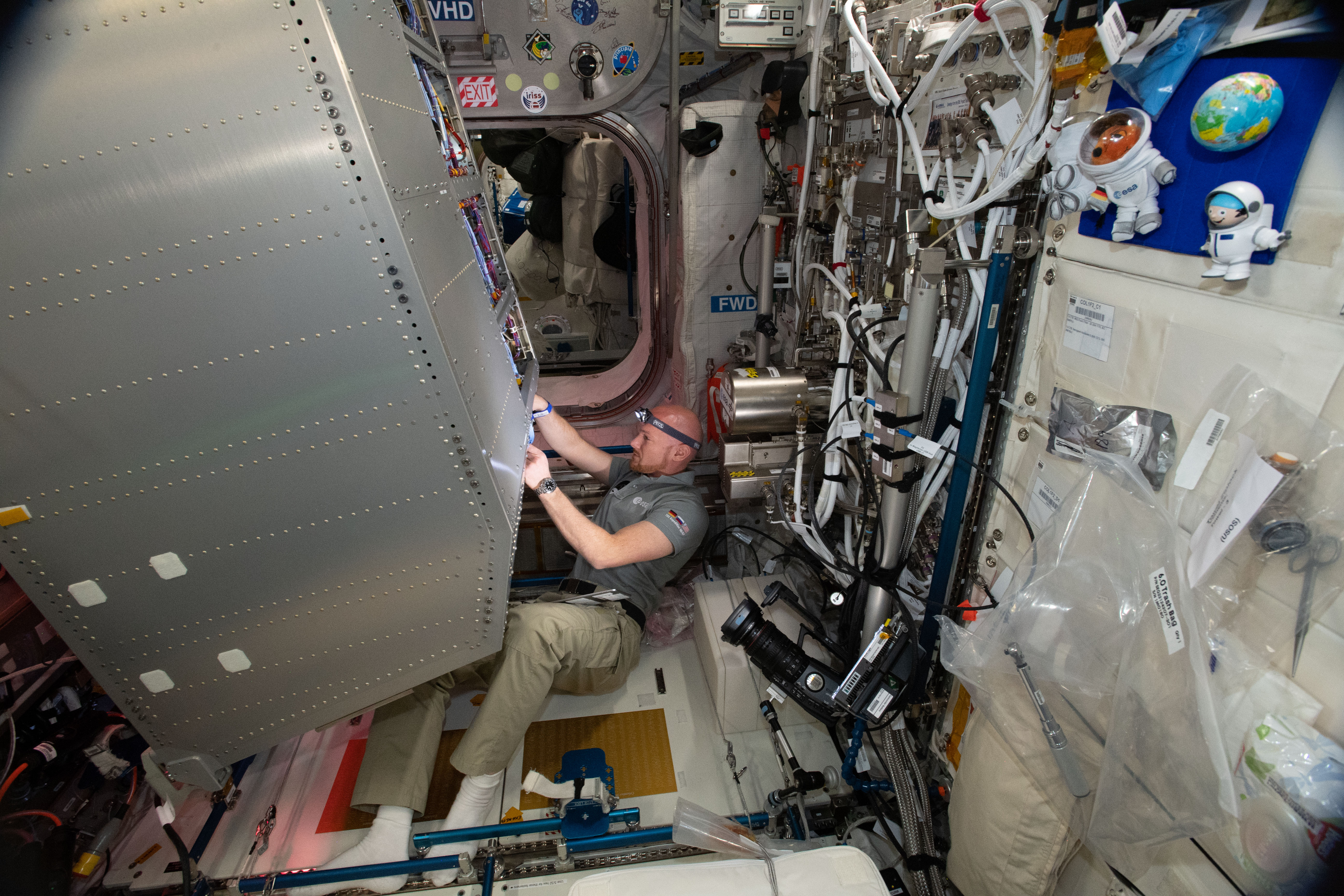 Latest snapshot of science in space