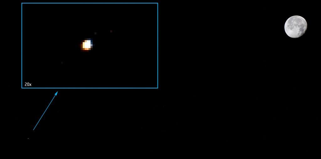 Moon, Mars, Station. Credits: ESA–A. Gerst