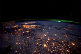 Nederland met poollicht