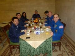Eten met de crew