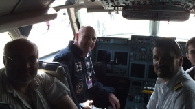 Astronaut en piloten