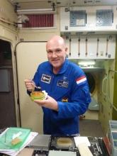 Eten in Russische deel ISS