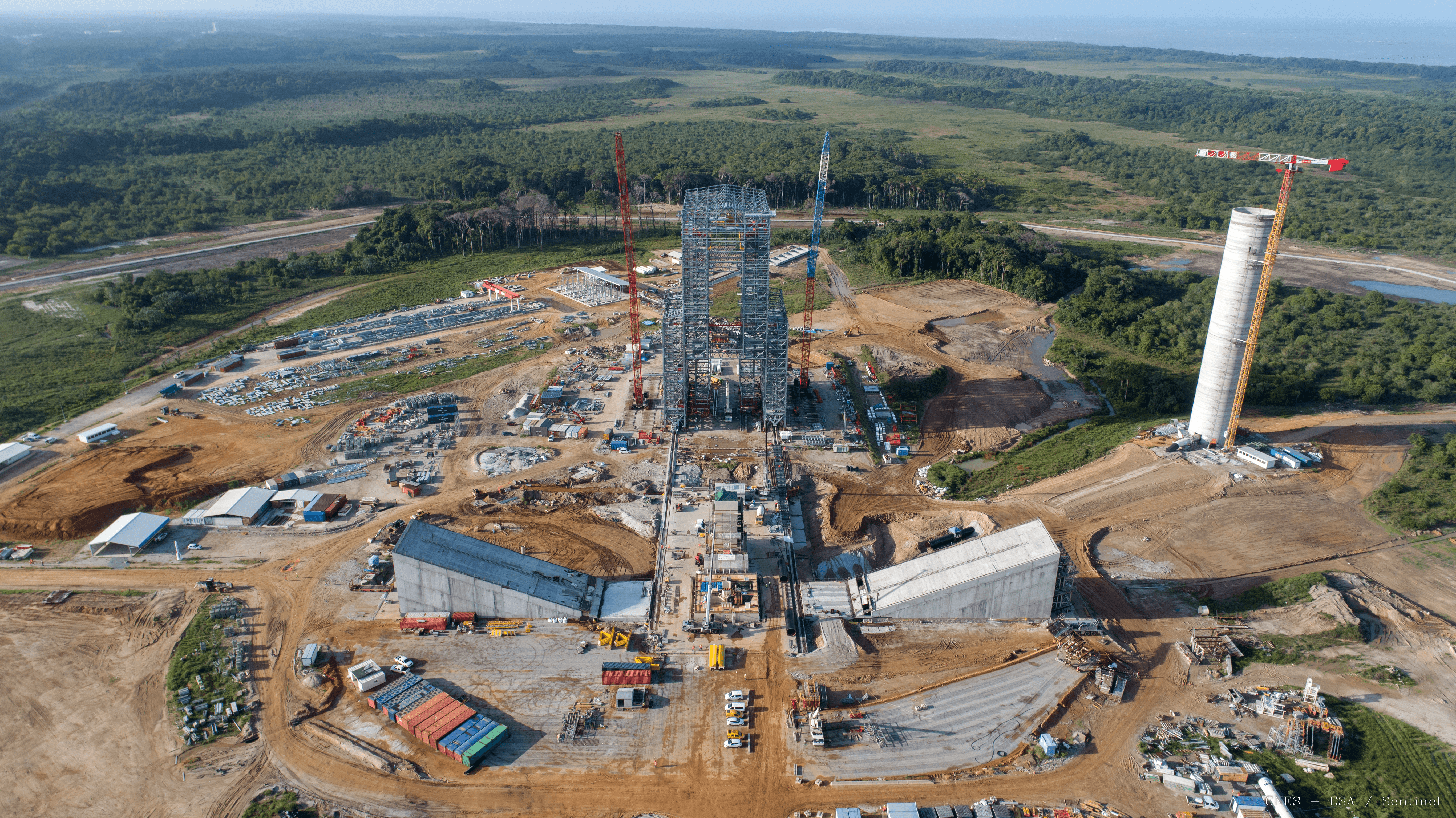 Ariane 6 Future Launch Site: Photos from Above | Ariane 6