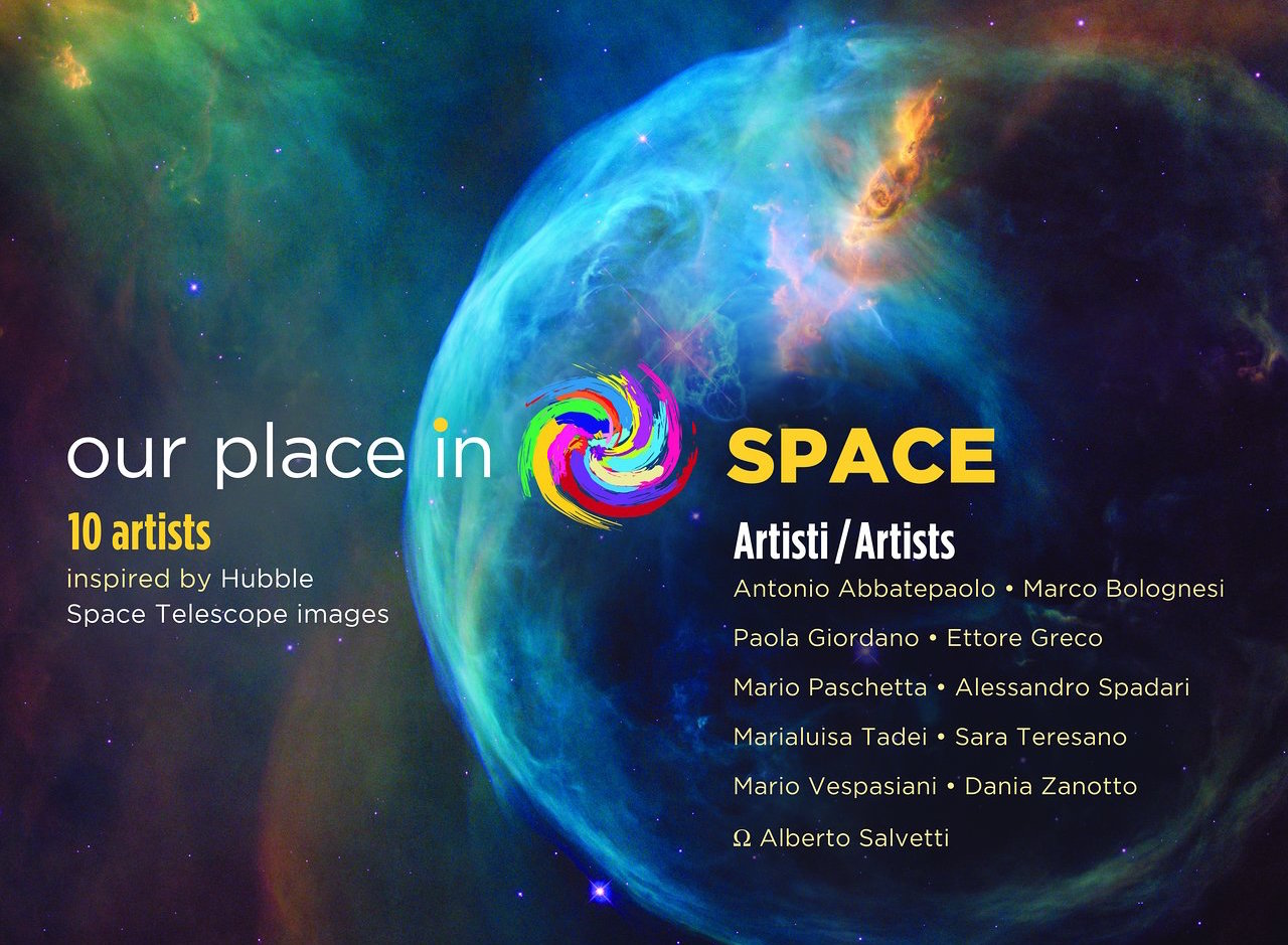 Our Place in Space: a Hubble-inspired art show – art&science@ESA