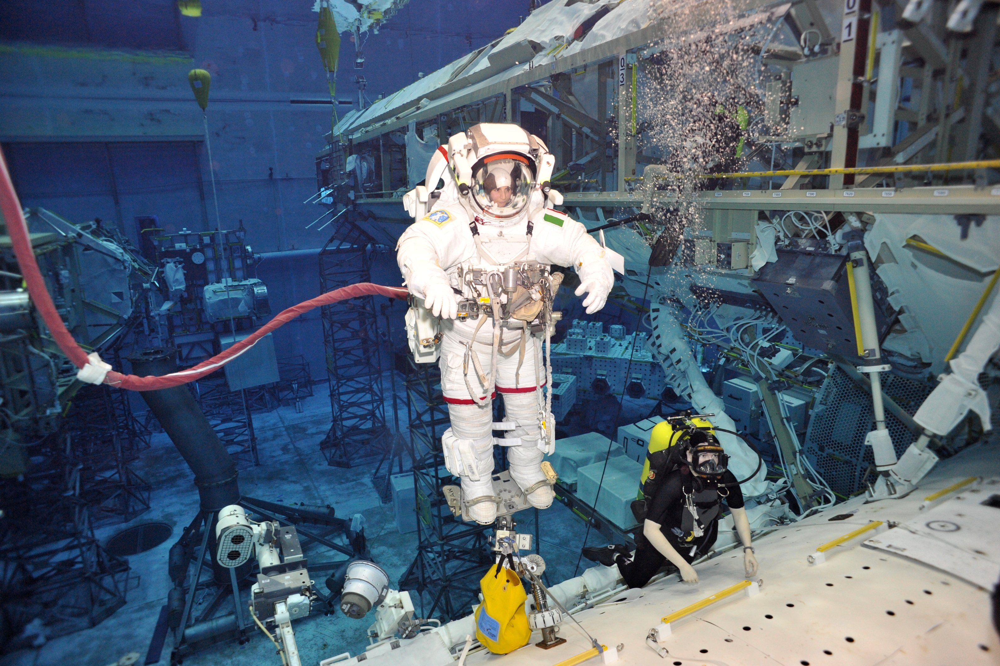 A day as a cyborg | Astronaut Class of 2009
