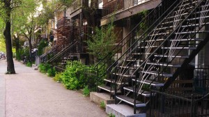 Love the outdoor staircases in Montreal!