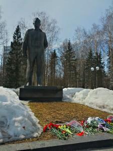 Yuri Gagarin's Monument