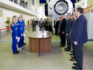 Exp 36 in front of the commission
