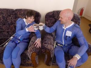 Afterwards a celebratory tea with Alex