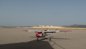 The UAV from Cyprus Institute.