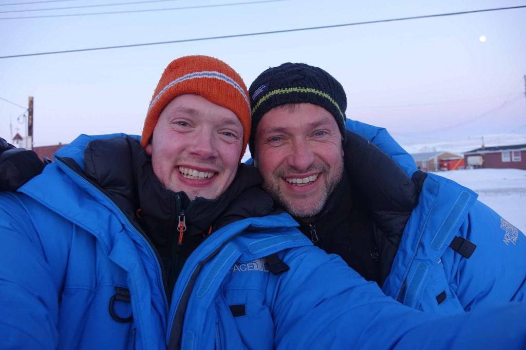 Philip de Roo (left) and Marc Cornelissen (© Cold Facts)