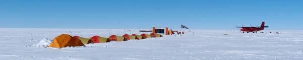 Field camp at FD83 (Arne Olesen)