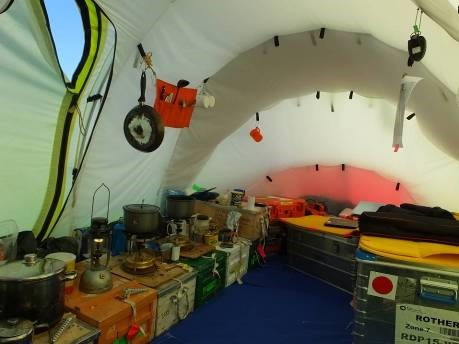 Inside the living tent cooking was one on two primus stoves a paraffin l& provided & PolarGAP: culture shock | Campaign Earth