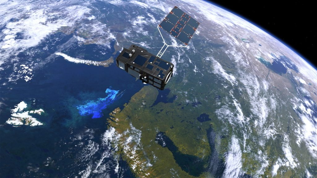 Sentinel-3: revealing the colour of ocean life. (ESA/ATG medialab)