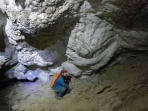 Gypsum Cave in Sorbas, Spain. Photo: Laura Sanno