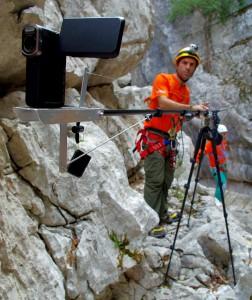 Speleo-camera-crane. Credits: ESA-V. Crobu