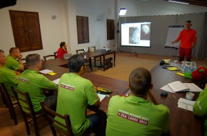 Karst lecture with astronaut pupils. Credits: ESA-V. Crobu