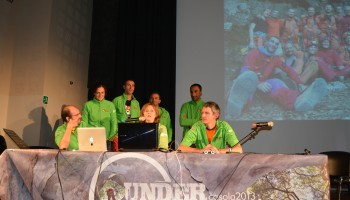 CAVES presentation at Casola 2013 Underground. Credits: Cervelliln Azione