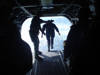 Sea Survival Astronaut Operational Skills Course 2005 ESA-EI