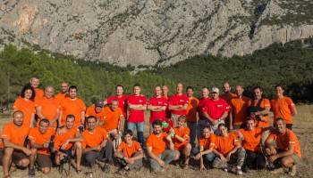 ESA Caves 2014 team  Credits: ESA\R.DeLuca