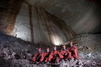 CAVES2014 crew photo: The Big Wall. Credits: ESA- R. DeLuca