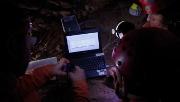 Checking radon data. Credits: ESA-V.Crobu