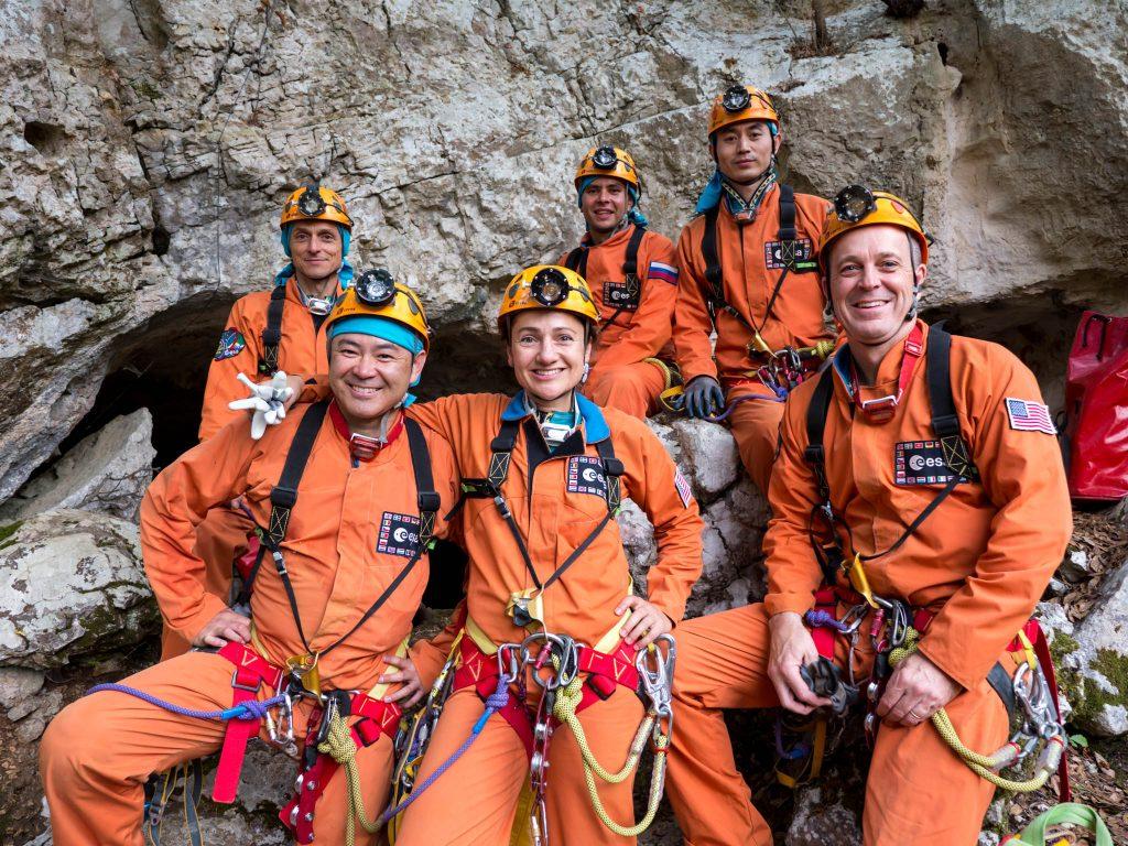 Cavenauts day 0. Credits: ESA–S. Sechi
