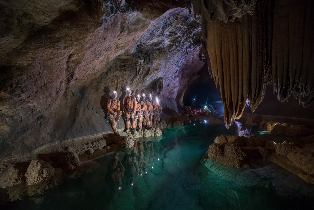 Cavenauts on day 4. Credits: ESA–V. Crobu