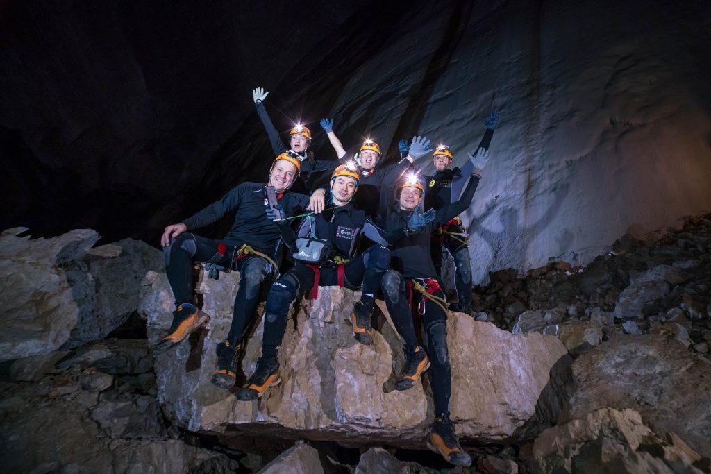 Cavenauts on day 5. Credits: ESA–V. Crobu