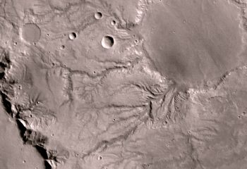 Mars Express/HRSC images of the fluvial valley networks in the equatorial highlands of Mars. Credits: ESA/Mars Express/HRSC/Neukum/DLR