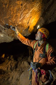 Luca during CAVES 2014. Credits: ESA–R. de Luca