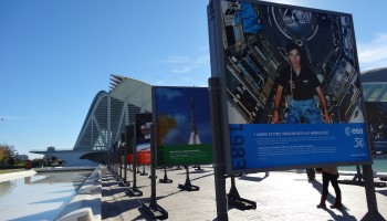 ESA 50 years exhibition in Valencia