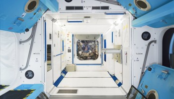 ESA Columbus ISS module Training Simulator